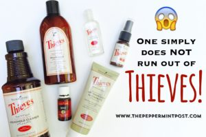 thieves, essential oils, immune system, healthy, safe cleaners