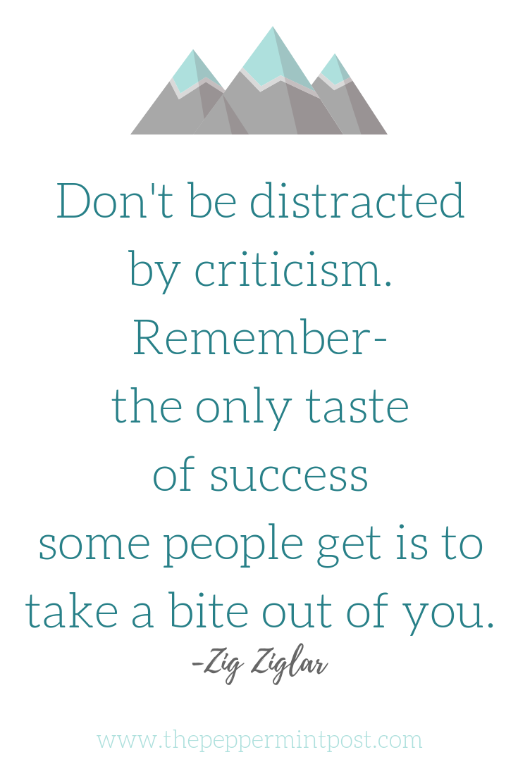 How to take criticism, Zig Ziglar quotes, How to not care what people think