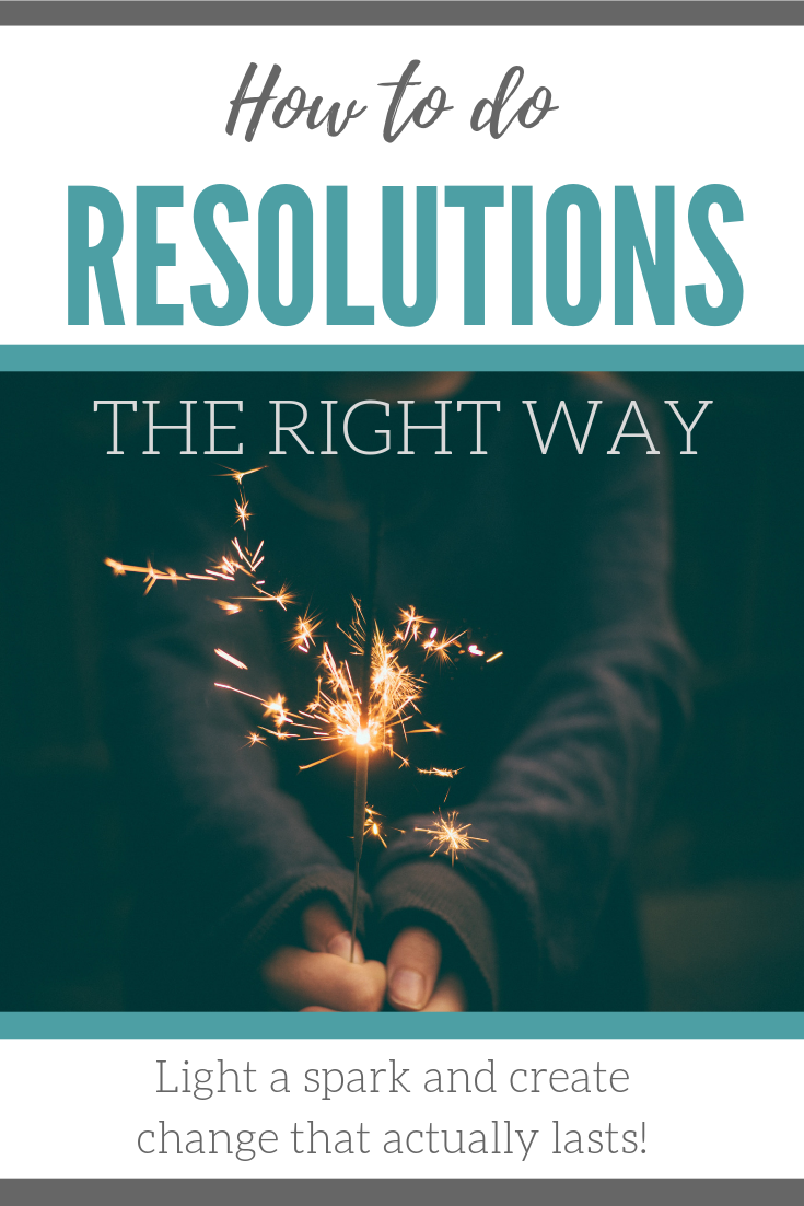 New Year's Resolutions, How to Create Lasting Change, Habits, Goal Setting